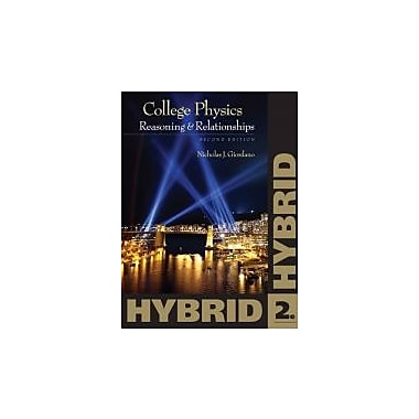 College Physics, Hybrid (with Enhanced WebAssign Homework and eBook LOE Printed Access Card for Multi Term Math and Science)