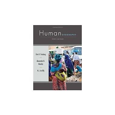 Human Geography: People, Place, and Culture, Used Book (9781118018699)