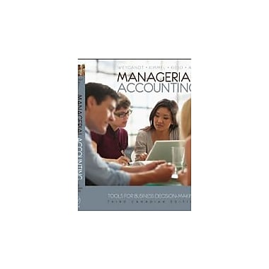 Managerial Accounting: Tools for Business Decision-Making, Used Book, (1118033892)