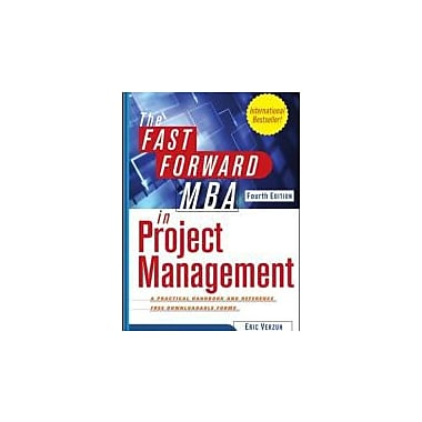 The Fast Forward MBA in Project Management, New Book (9781118073773)