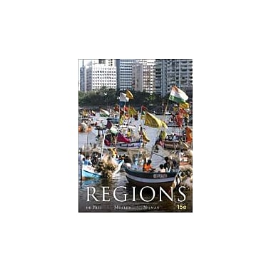 Geography: Realms, Regions and Concepts, New Book (9781118093603)