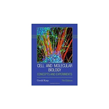 Cell and Molecular Biology: Concepts and Experiments, Used Book, (1118206738)