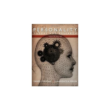 Personality: Theory and Research, New Book (9781118360057)