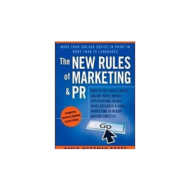 The New Rules of Marketing & PR, Used (9781118488768)