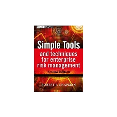 Simple Tools and Techniques for Enterprise Risk Management, New Book (9781119989974)