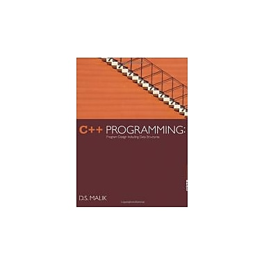 C++ Programming: Program Design Including Data Structures, 6th Edition, Used Book (9781133526322)