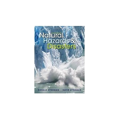 Natural Hazards and Disasters, New Book, (1133590810)