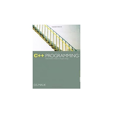 C++ Programming: From Problem Analysis to Program Design, New Book (9781133626381)
