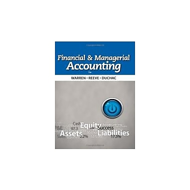 Financial & Managerial Accounting, Used Book (9781133952428)