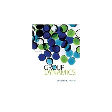 Group Dynamics, New Book (9781133956532)