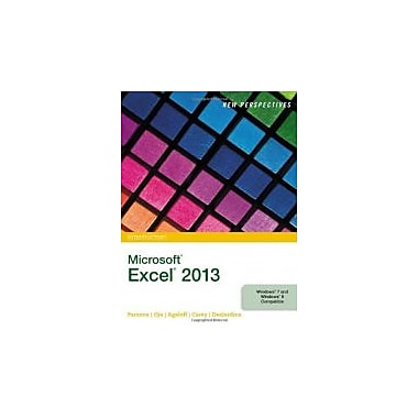 New Perspectives on Microsoft Excel 2013, Introductory, New Book (9781285169361)