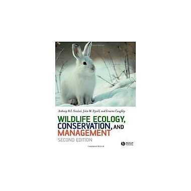 Wildlife Ecology, Conservation and Management, New Book (9781405107372)