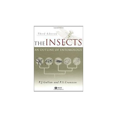 The Insects: An Outline of Entomology, Used Book (9781405111133)