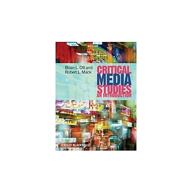 Critical Media Studies: An Introduction, New Book (9781405161862)