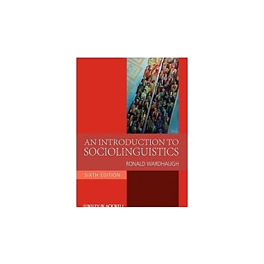 An Introduction to Sociolinguistics, Used Book (9781405186681)