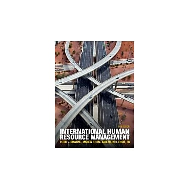 International Human Resource Management (with CourseMate and eBook Access Card), Used Book (9781408075746)
