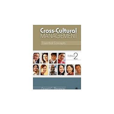 Cross-Cultural Management: Essential Concepts, New Book (9781412939560)