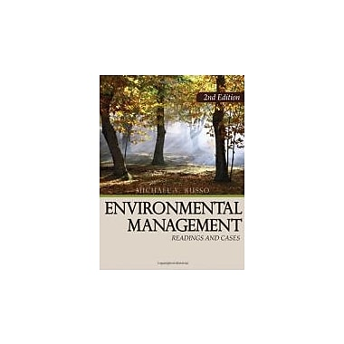Environmental Management: Readings and Cases, 2nd Edition, Used Book (9781412958493)
