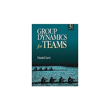 Group Dynamics for Teams, New Book (9781412977623)