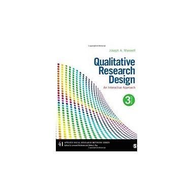 Qualitative Research Design: An Interactive Approach (Applied Social Research Methods), New Book (9781412981194)