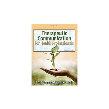 Therapeutic Communications for Health Care, Used Book (9781418032647)