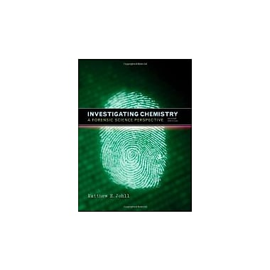 Investigating Chemistry: A Forensic Science Perspective, New Book (9781429209892)