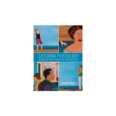 Exploring Psychology, Eighth Edition, In Modules, New Book (9781429216364)