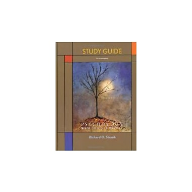 Study Guide for Psychology in Modules, Used Book (9781429233620)
