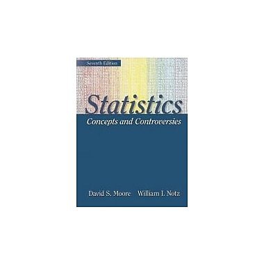 Statistics:Concepts and Controversies with Tables & ESEE Access Card, New Book (9781429237024)