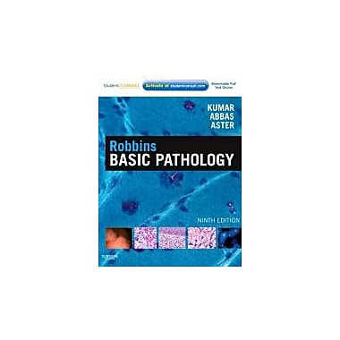 Robbins Basic Pathology: with STUDENT CONSULT Online Access, 9e (Robbins Pathology), Used Book (9781437717815)