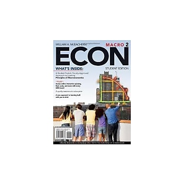 ECON Macro 2 (with Premium Web Site Printed Access Card and Review Cards), Used Book (9781439040676)