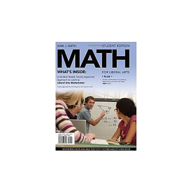MATH for Liberal Arts, Used (9781439047026)