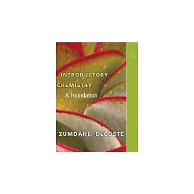 Introductory Chemistry: A Foundation, Used Book (9781439049402)