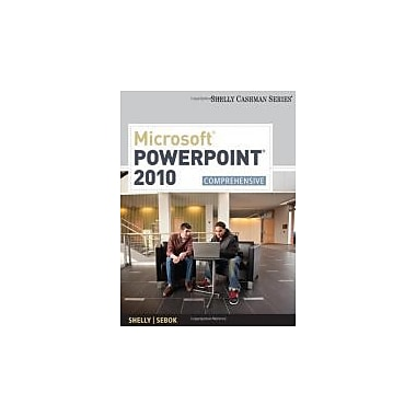 Microsoft PowerPoint 2010: Comprehensive (Shelly Cashman Series), Used Book (9781439079034)