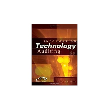 Information Technology Auditing (with ACL CD-ROM), New Book (9781439079119)
