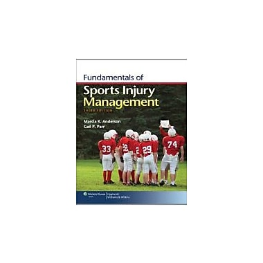 Fundamentals of Sports Injury Management, New Book (9781451109764)