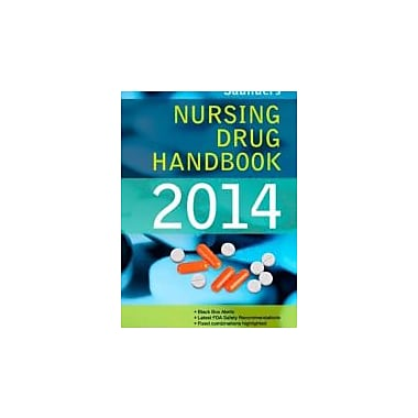Saunders Nursing Drug Handbook 2014, 1e, Used Book (9781455707393)