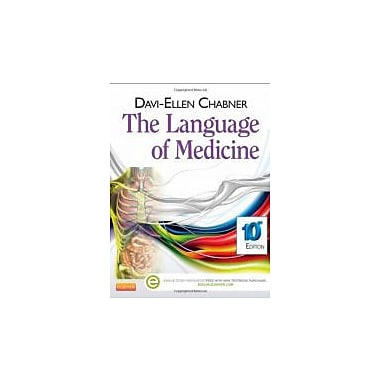 The Language of Medicine / Edition 10, New Book (9781455728466)