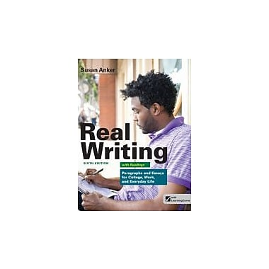 Real Writing with Readings: Paragraphs and Essays for College, Work, and Everyday Life, New Book (9781457601996)