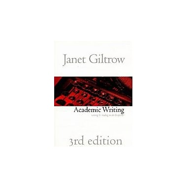 Academic Writing: Writing and Reading Across the Disciplines, 3rd Edition, Used Book (9781551113951)