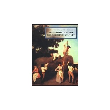 The Broadview Anthology of British Literature: Volume 3: The Restoration and the Eighteenth Century, New Book (9781551116112)