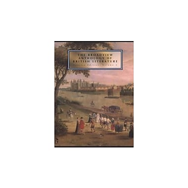 Broadview Anthology of British Literature Concise Volume A, New Book (9781551118680)