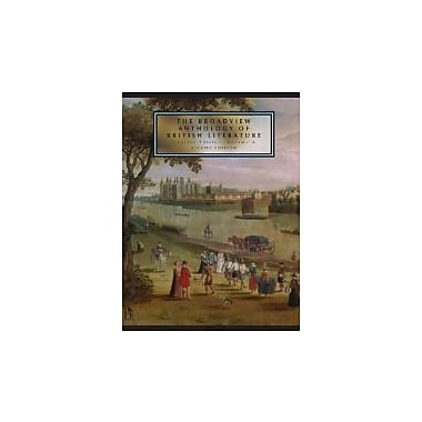 The Broadview Anthology of British Literature, second Edition: Concise Edition, Volume A, New Book (9781554810482)