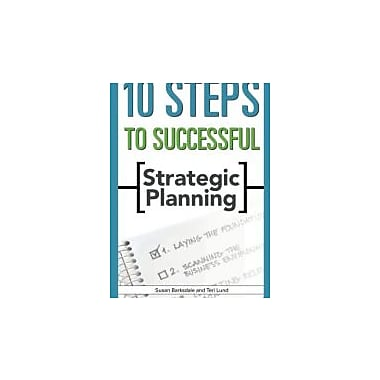 10 Steps to Successful Strategic Planning, New Book (9781562864576)