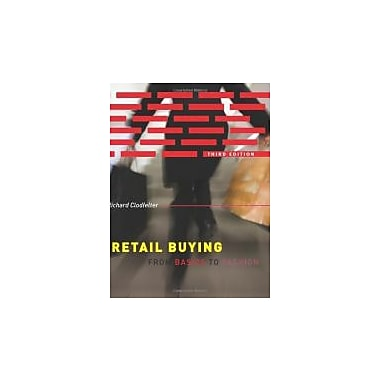 Retail Buying: From Basics to Fashion (3rd Edition), New Book (9781563677038)