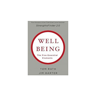 Well being: The Five Essential Elements, New Book (9781595620408)