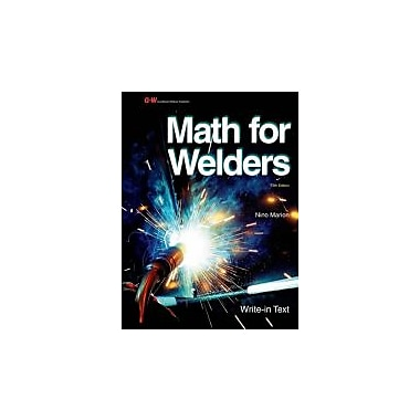 Math for Welders, Used Book (9781605259000)