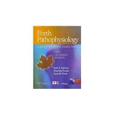 Porth Pathophysiology: Concepts of Altered Health States, Used Book (9781605477817)