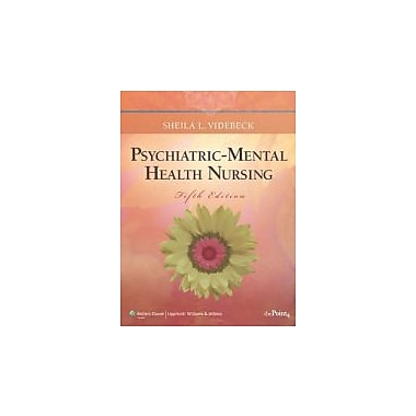 Psychiatric-Mental Health Nursing (Point (Lippincott Williams & Wilkins)), New Book (9781605478616)