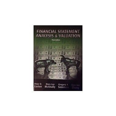 Financial Statement Analysis and Valuation, New Book (9781618530097)